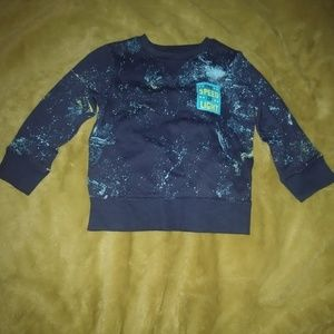 Cat & Jack galaxy sweatshirt 2t NWOT
